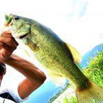 こぎろ池でバス釣り‼37cm♪2019年9月28日